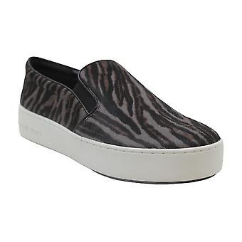 Michael Michael Kors Trent Slip-On Sneakers Size 8 Pearl Grey