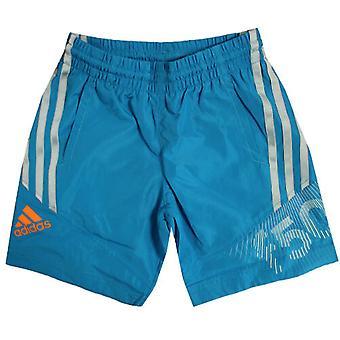 Adidas F50 Boys Kids Blue 3 pruhy Elastické plavky Šortky F50555 R1B