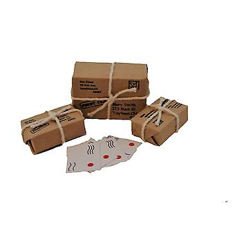 Dolls House Parcels & Letters 1:12 Scale Post Office Hall Accessory
