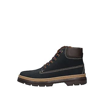 PRIMIGI Zipped & Laced Boot Navy Blue