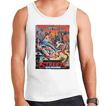 Sega Streets Of Rage Mega Drive Menn's Vest