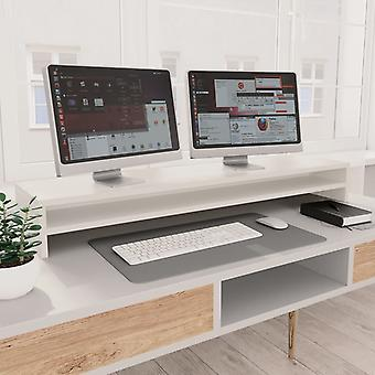 Monitor stand White 100 x 24 x 13 cm chipboard