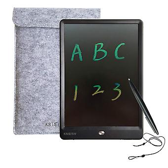 Krieitiv lcd writing tablet 10 inch colour screen rainbow handwriting doodle pad portable lcd drawin