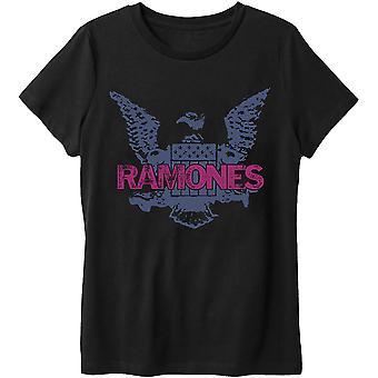 Ramones Purple Eagle Official Tee T-Shirt Unisex