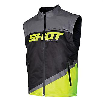 Shot 2020 Lite Bodywarmer Adult Neon Yellow