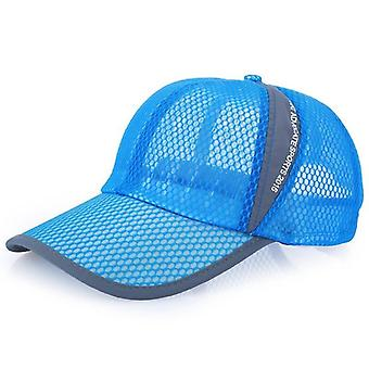 3 Colors High Quality Fashion Women Cap Men's Sunscreen Summer Hat Mesh Tennis