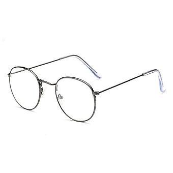 Mode-Brille Rahmen klassische Runde Frauen's Metallrahmen