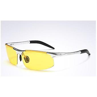 القيادة الاستقطاب الألومنيوم المغنيسيوم الإطار الرياضة الشمس النظارات