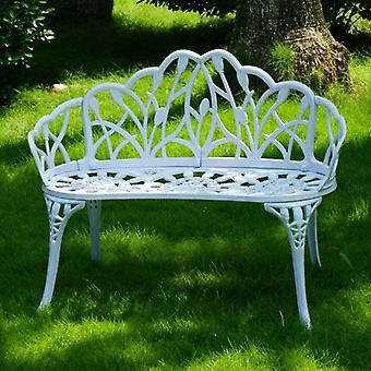 Loveseats Cast Aluminum Leisure Patio Benches Path Chair For Outdoor Furniture