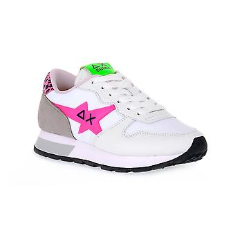 Sun68 0162 ally star transparent fashion sneakers
