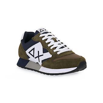 Sun68 19 jaki bicolor military sneakers fashion