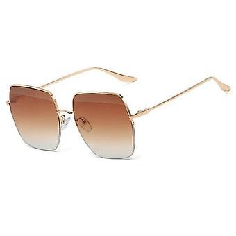 Big Square Sonnenbrille Frauen