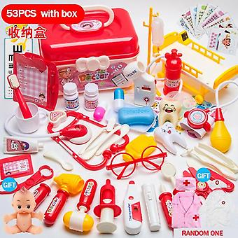 Doctor Set Pretend Play Role-playing Games Hospital Accessories Medical Kit