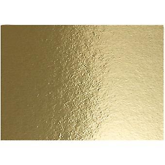 Metallic Foil Card, A4 280g x10 gold