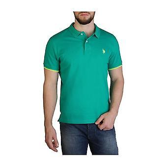 U.S. Polo Assn. - Clothing - Polo - 59620-140 - Men - limegreen,yellow - XL