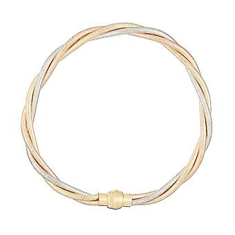 Tricolore Gouden Armband 375/1000
