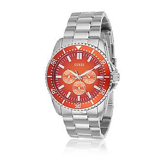 נחשו W10245G2 - שעון יד מפלדה רב תכליתי לגברים