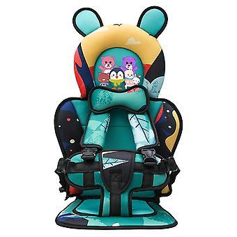 Asiento portátil para bebés de dibujos animados, sillas de seguridad para niños, asientos para bebés,