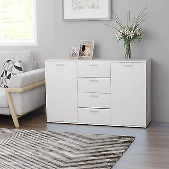 vidaXL Sideboard White 120×35.5×75 cm Chipboard