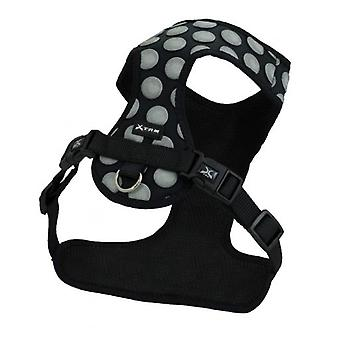 Nayeco 3D Dots Harness Black (Dogs , Collars, Leads and Harnesses , Harnesses)