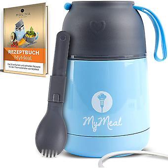 Wokex MyMeal Thermobehälter für Essen 450ml, Warmhaltebehälter Essen, Thermo Lunchbox, Thermobecher