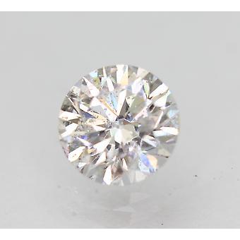 Sertifioitu 0,90 karat D VS2 pyöreä brilliant parannettu luonnollinen löysä timantti 6,12mm