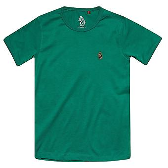 Boy's Luke 1977 Infant Trouser Snake Crew T-Shirt in Green