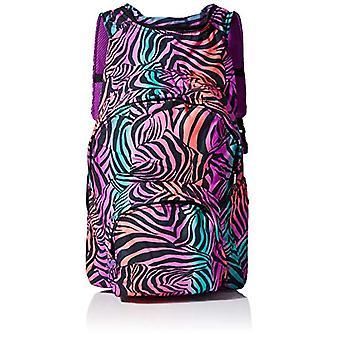 MorikukkoMorikukko Hooded Backpack Kool ZebraUnisex - AdultZainiMulticolore (Kool Zebra)33x8x40 Centimeters (W x H x L)