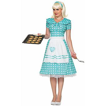 1950s Housewife Pinup Vintage Rockabilly Lucy Women Costume