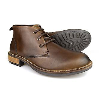 Silver Street Curzon Brown Leather Casual Mens Chukka Boots