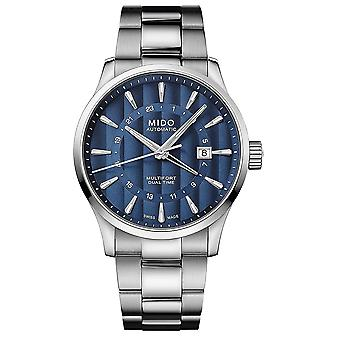 Mido watch multifort dual time m038.429.11.041.00