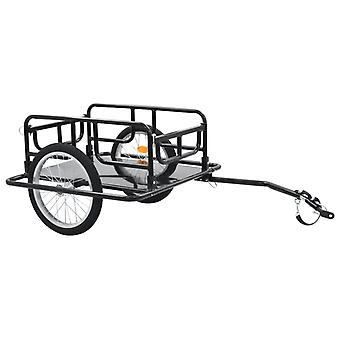 Bicycle Cargo Trailer,2-Wheel Storage Carrier with Towing Bar Max Capacity 50KG