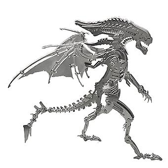 3D DIY Metal Stainless Steel Puzzle Assembly Model Kit Crafts Creative Gift As Home Office Decor For Over 14 - Winged Beast