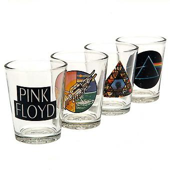 Vaaleanpunainen Floyd Shot Glass Set (Pakkaus 4)