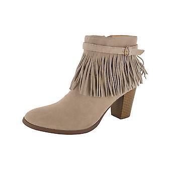 C. Wonder Womens Willa Suede Fringe Boot Shoes
