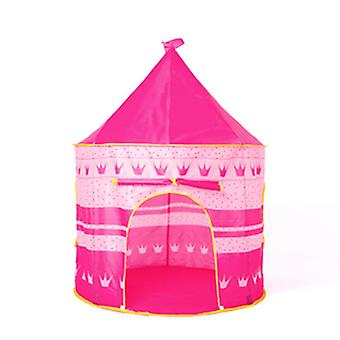 New Girls Play Tent Indoor Toy Princess Castle Girls Tent Kids Tent House Pink ES9392