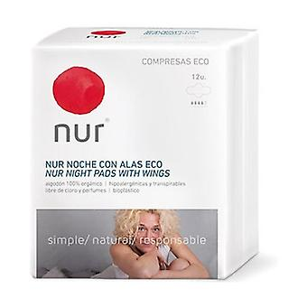 Ultra-thin Night Compress with Wings 12 units