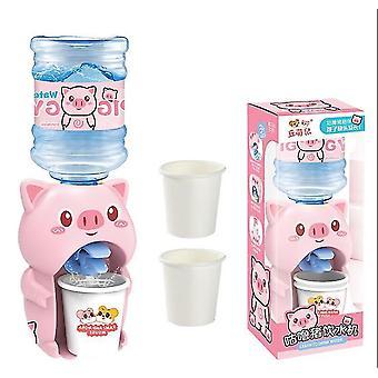 Pig mini water dispenser educational children's water dispenser toy dt5591