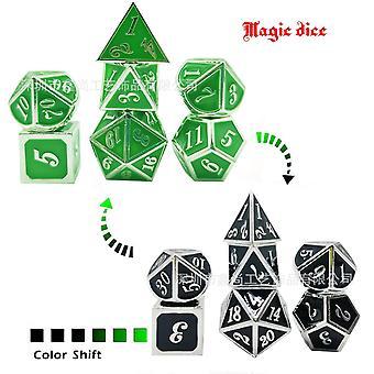 2 Metal dice set role playing dragons magic dice bar party table game 7pcs/set fa1390