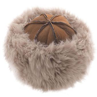 Naiset Super Soft Luxury Lampaannahka hattu