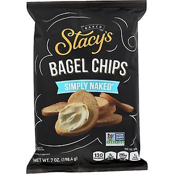 Stacys Pita Chip Chips Bagel Simply Nkd, sag om 12 X 7 Oz