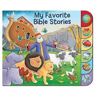 My Favorite Bible Stories by Matt Mitter & Illustrated by Steve Cox