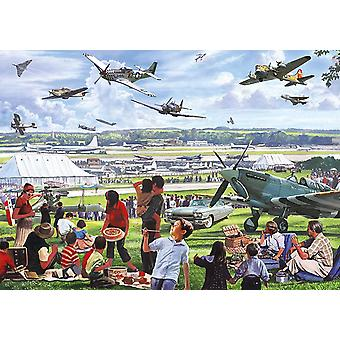 Otter House Air Show Jigsaw Puzzle (500 XL Pieces)