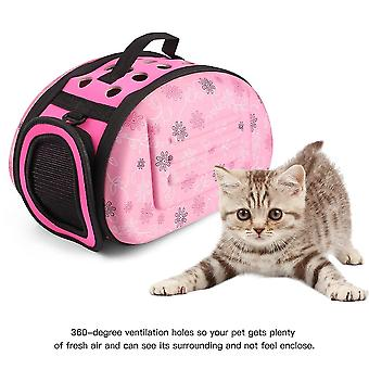 Lovely Floral Soft Eva Portable Pet Bag Breathable Outdoor Carrier Pet Bag