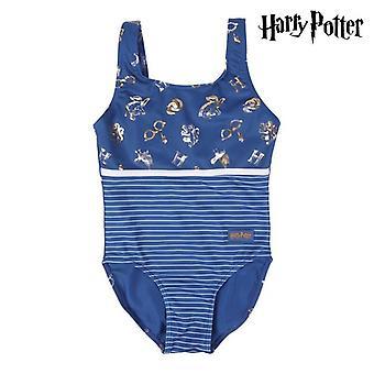 Swimsuit for Girls Harry Potter Blue