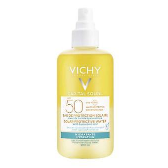 Solblokk Hovedstad Soleil Hydrating Vichy Spf 50 (200 ml)