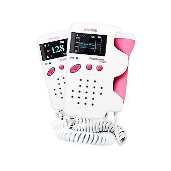 Fetal Baby Heart LCD Probe Prenatal Heartbeat Detector