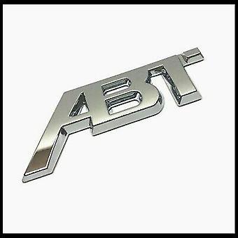 Cromo ABT Tuning Pegatina De Arranque Trasero Emblema Insignia Tapa del Maletero