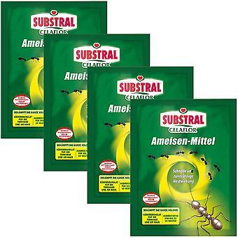 Sparset: 4 x SUBSTRAL® Celaflor® ants, 100 g