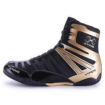 Nyrkkeilykengät Miehet Musta Hengittävät Pain Shoes